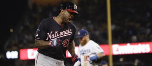 Kendrick mandó de vacaciones a los Dodgers con su lapidario Grand Slam. - wtop.com