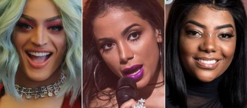 Pabllo Vittar e Ludmilla são algumas brasileiras que brigaram com Anitta. (Arquivo Blasting News)