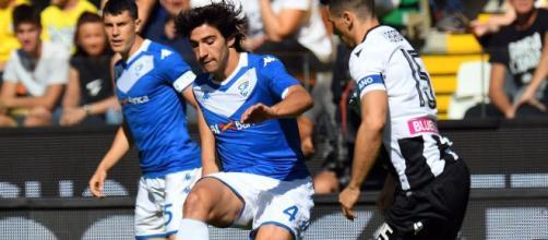 Sandro Tonali, talentuoso centrocampista del Brescia
