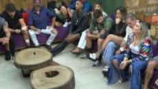 'A Fazenda 11': Thayse e Túlio fazem discurso antes de terceira eliminação