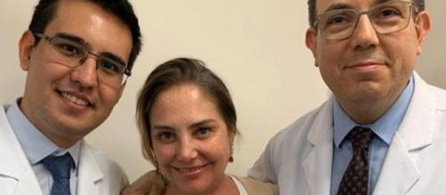A atriz lutava contra um câncer nas glândulas salivares. (Reprodução/Instagram/@heloisaperisse)
