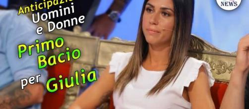 Anticipazioni Uomini e Donne Classico: Primo Bacio per Giulia ... - uominiedonnenews.it
