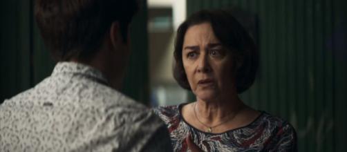 Evelina vai chantagear Leandro. (Reprodução/ TV Globo)