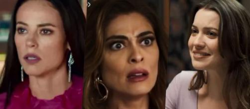 Maria Paz descobre ser tia de Vivi e Fabiana. (Arquivo Blasting News)