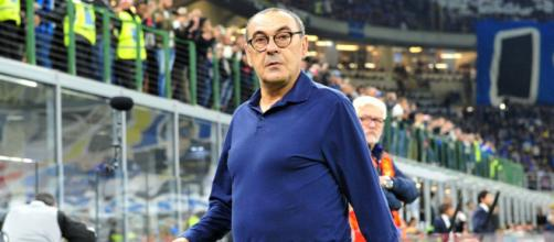 Maurizio Sarri, allenatore della Juventus.