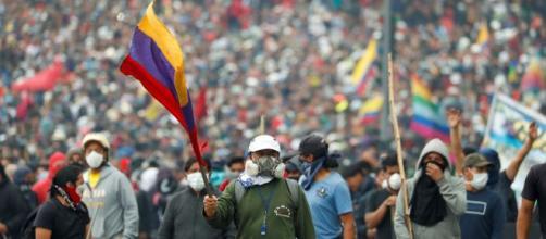 Siguen las protestas contra las políticas de austeridad en Ecuador