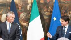 Conte promette alla Nato sette mld di euro in più all'anno, Fusaro: 'Servi di Washington'