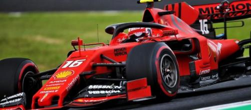 Charles Leclerc, pilota Ferrari