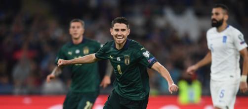 Italia-Grecia 2-0: Jorginho firma il gol del vantaggio su rigore