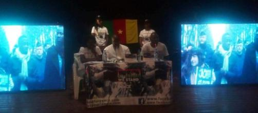 Le collectif We Stand for Cameroon (c) Odile Pahaia