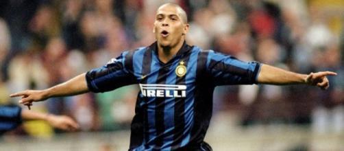 Ronaldo il Fenomeno ai tempi dell'Inter.