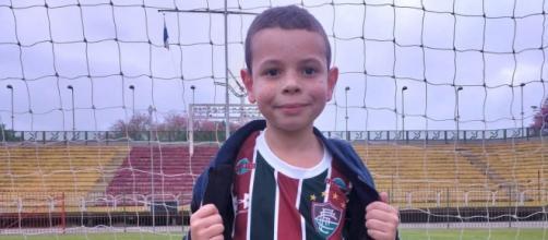 Tricolor de coração, Miguel Alves sofre com problema renal (Foto: Renan Tolentino/TV Rio Sul)