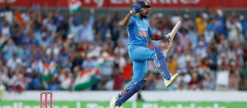Virat Kohli hits 7th double century against South Africa (Image via BCCI.TV)