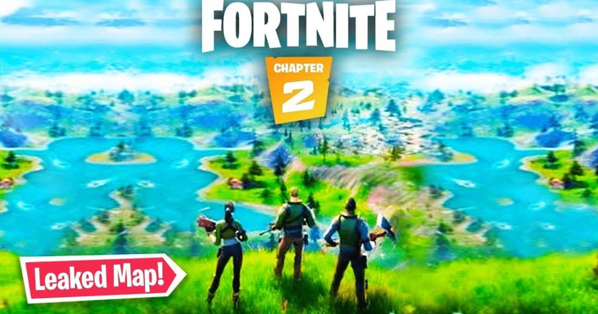 'Fortnite' leaker reveals Chapter 2 map locations