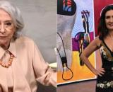 Fernanda Montenegro e Fátima Bernardes são famosas que já lecionaram. (Reprodução/Instagram/@fernandamontenegrooficial/@fatimabernardes)