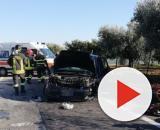 Calabria, grave incidente stradale: perde la vita un padre