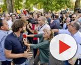 Il giornalista Filippo Roma a Napoli ha rischiato il linciaggio da parte di attivisti M5s