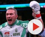 Oleksandr Usyk, facile vittoria prima del limite al debutto tra i pesi massimi