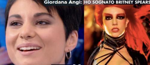 Giordana Angi rivela di aver sognato Britney Spears. Blasting News
