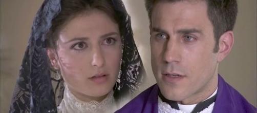 Una vita, puntata del 14 ottobre: padre Telmo scopre che i Marchesi di Valmez erano fratellastri