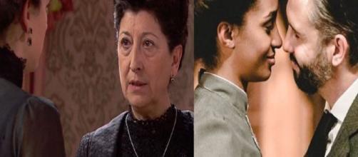 Una Vita, trame spagnole: Genoveva chiede aiuto ad Ursula per far separare Felipe e Marcia