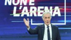Non è l'Arena, la gaffe di Giletti e Meloni: 'Sono anni che non eleggiamo un Premier'