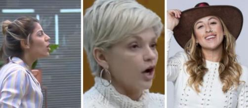 Hariany, Andréa e Bifão são favoritas em 'A Fazenda', segundo enquete UOL. (Fotomontagem/ Reprodução/ Divulgação/ Record TV)