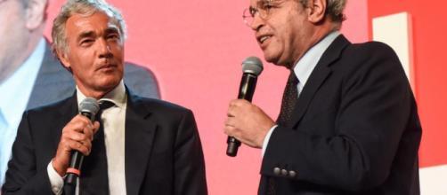 Polemica a distanza tra Massimo Giletti ed Enrico Mentana