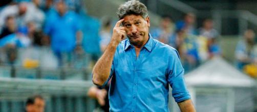 Renato Gaúcho, técnico do Grêmio, já vestiu a camisa do Flamengo e do Grêmio. (Lucas Uebel/Grêmio)