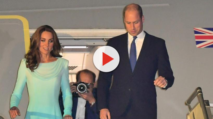 Prince William and Kate Middleton arrive in Pakistan for royal tour