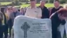Ireland: An Irishman's voice came out of a coffin as it was lowered into the grave