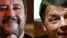 Confronto Renzi-Salvini a 'Porta a Porta': in onda alle 22:50 dopo Liechtenstein-Italia