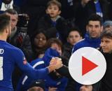 Conte assieme a Giroud ai tempi del Chelsea
