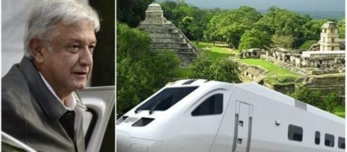 El Tren Maya captó la atención de inversionistas franceses.