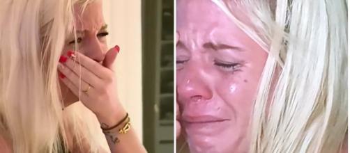 Jessica Thivenin en larmes après à l'opération de son fils