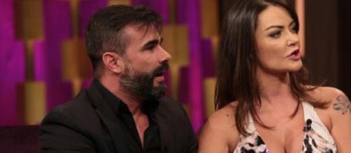 Laura não gostou de atitude de Jorge. (Reprodução/Antonio Chahestian/Record TV)