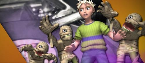 "Rare's ""Grabbed by the Ghoulies"" delivers kid-friendly scares. [Screenshot - YouTube/ Rare Ltd]"
