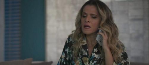 Silvana fará de tudo para recuperar o amor de Mário. (Reprodução/TV Globo)