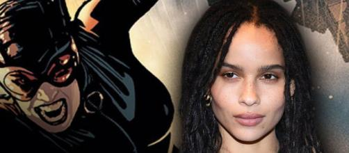 Zoe Kravitz has been cast as Catwoman in the upcoming Batman film. [Image Credit] Collider Videos/YouTube