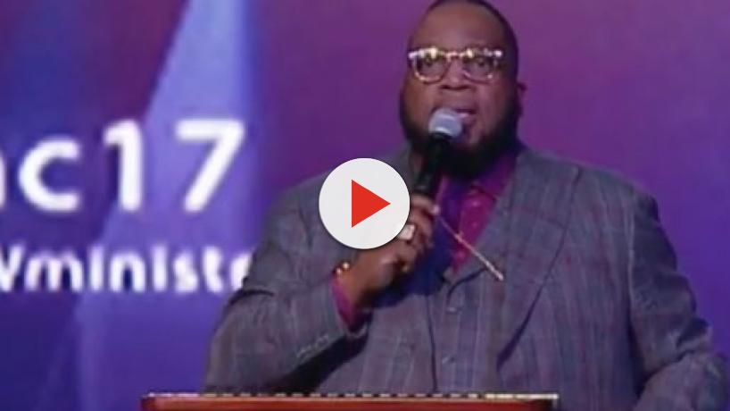 Bishop Marvin Sapp turns the reigns of his church over to Rory Marshall