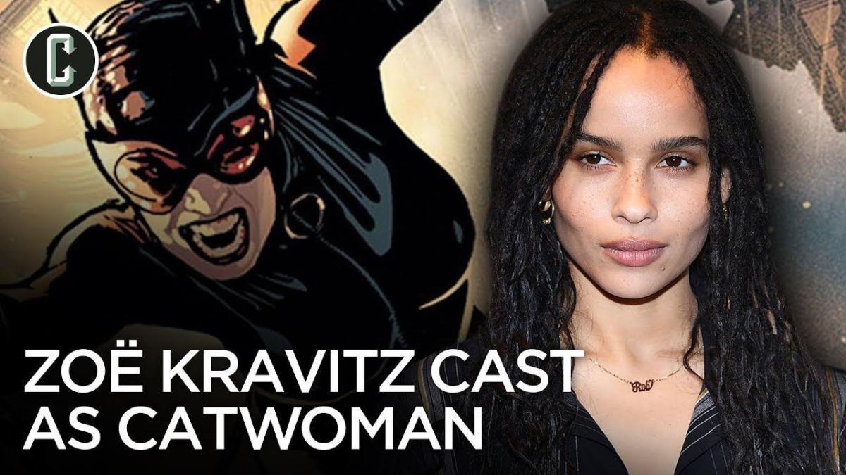 Zoe Kravitz Cast As Selina Kyle In Upcoming The Batman Film