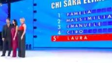Amici Celebrities, 5^ puntata: Laura Torrisi ed Emanuele Filiberto sono gli eliminati