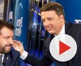 Duello a Porta a Porta tra Matteo Salvini e Matteo Renzi
