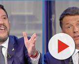 Lo scontro tra Renzi e Salvini a Porta a Porta