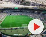 Palmeiras recebe Chape no Allianz Parque. (Reprodução/Instagram/@palmeiras/Bruno Mooca)