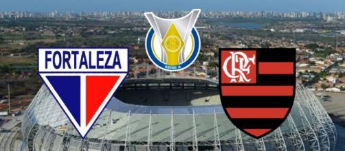Fortaleza x Flamengo: transmissão ao vivo exclusiva no pay-per-view. (Fotomontagem)