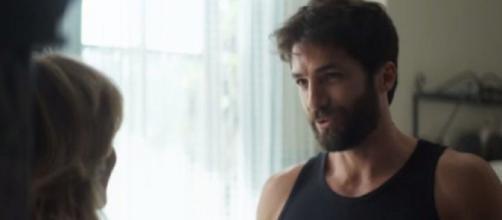 """Lyris e Rael, de """"A Dona do Pedaço"""". (Reprodução/TV Globo)"""