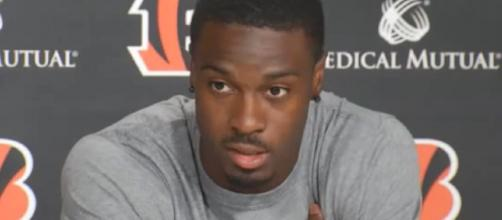 When healthy, Green is one of the best wide receivers in the NFL. [Image Source; Dayton 24/7 Now/YouTube]