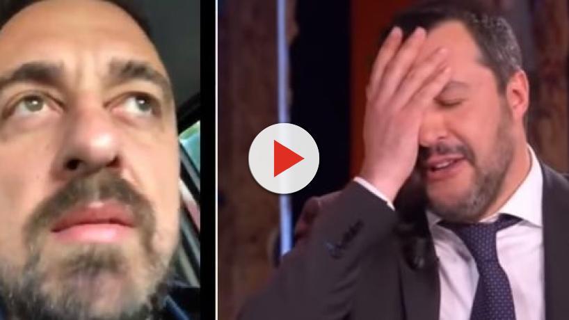 Salvini in ospedale, i dubbi di Chef Rubio: 'Perché non ci fai vedere il referto?'