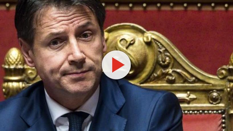 Conte in Senato: 'Europa nostro pilastro', il leghista Candiani: 'Utile idiota'